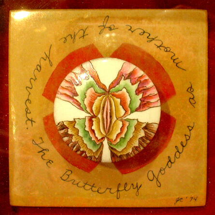 Judy Chicago, 'Butterfly Goddess as Mother of the Harvest'