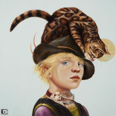 Claudia Giraudo, 'GOLDEN AGE, The Leopard Cat spirit', 2020