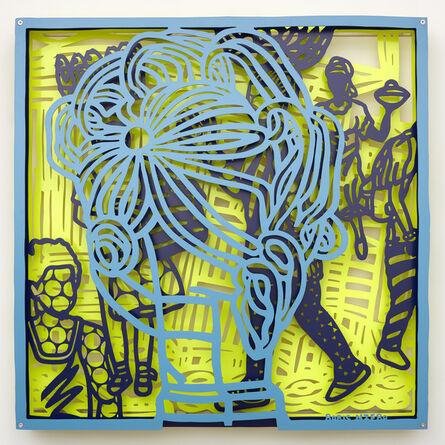 Boris Nzebo, 'Speed Demon 4', 2019