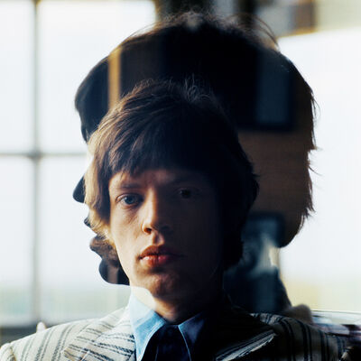 """Bent Rej, '""""Silhouette"""" Mick Jagger at Home, London, 1965', 1965"""