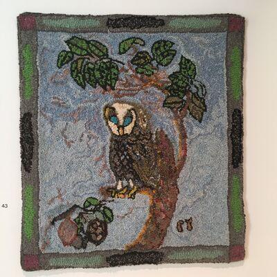Cheryl Raywood, 'Blue Eyed Owl'