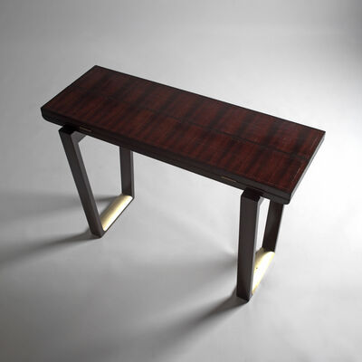 André Sornay, 'A console being transformed into occasional table', ca. 1936