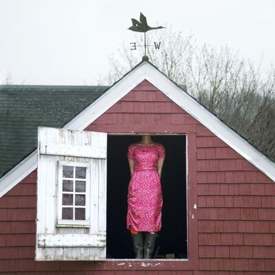 Cig Harvey, 'Weathervane, Self-portrait, Rockland, Maine', 2010