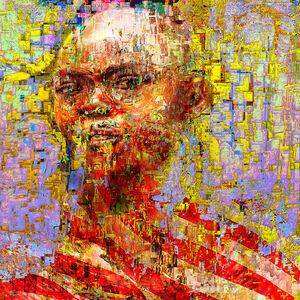 Jens Christian Wittig, ''It's Not You It's Me' Digital Painting, Lambda Print Mounted on Alu Dibond', 2019