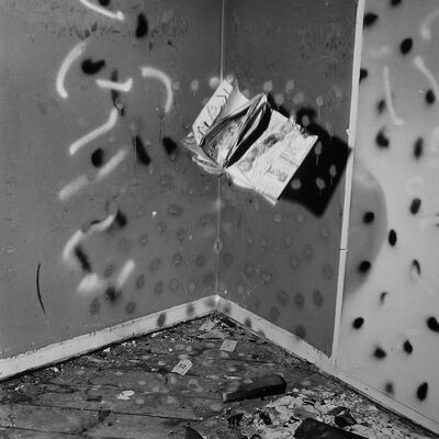 John Divola, 'Vandalism Series 74V09', 1973-1975