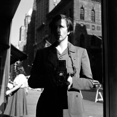 Vivian Maier, 'New York, NY', October 18-1953