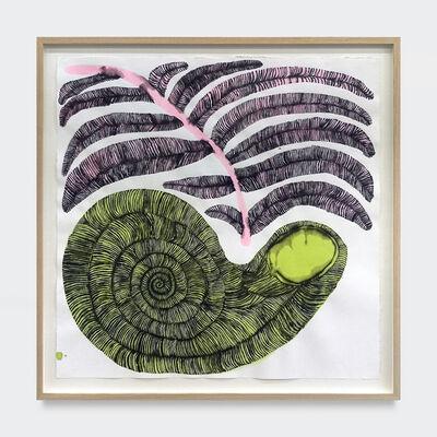 Emma Kohlmann, 'Green Fossilized Shell', 2021