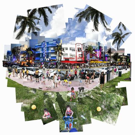 Christophe Pouget, 'Miami Vibes', 2018