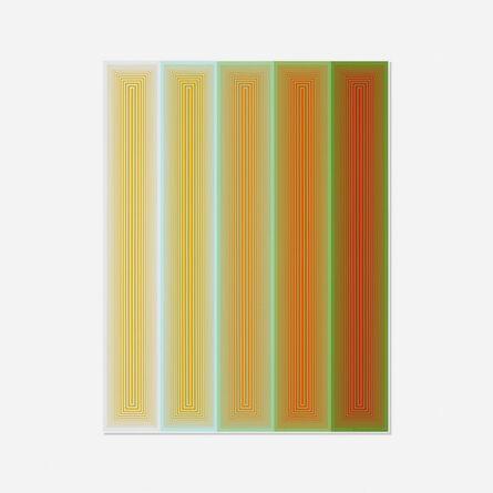 Richard Anuszkiewicz, 'Untitled (from the Inward Eye portfolio)', 1970
