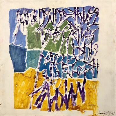 Jamil Naqsh, 'Untitled - Calligraphy ', 2010-2020