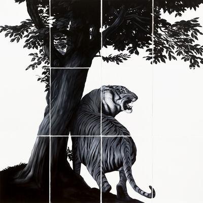 Shelley Reed, 'Tiger (after Janssen and Landseer)', 2017