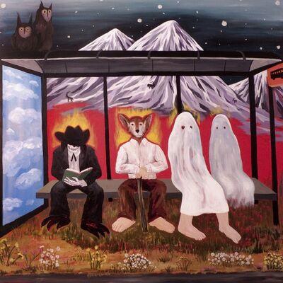 Santiago Lara, 'Bus Stop', 2014