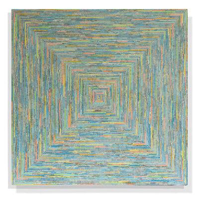 William Geisler, 'Lighted Labyrinth', 2017