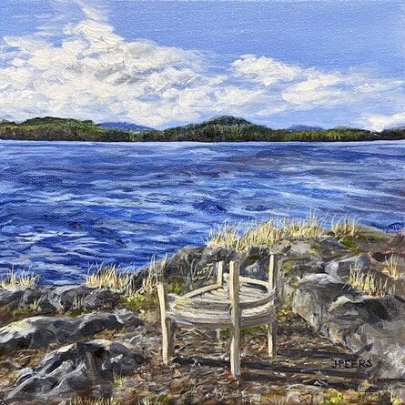 Jennifer Peers, 'Last Chair at the Outlook', 2021