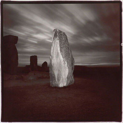 Richard Misrach, 'Stonehenge # 4', 1975