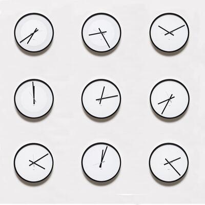 Katie Paterson, 'Timepieces (Solar System)', 2014