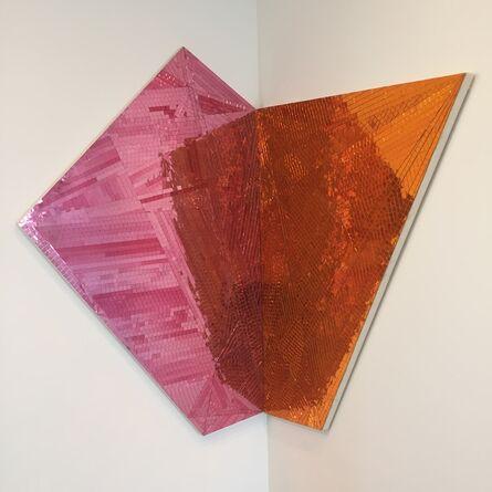 Jim Hodges, 'Toward Great Becoming (orange/pink)', 2014