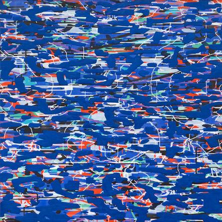 Amy Ellingson, 'Variation (ultramarine)', 2020
