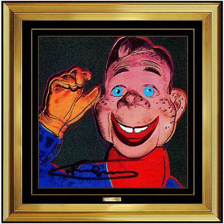 Andy Warhol, 'Howdy Doody (Invitation)', 1981