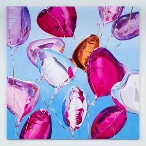 Gemma Gene, 'Pink Balloons', 2018