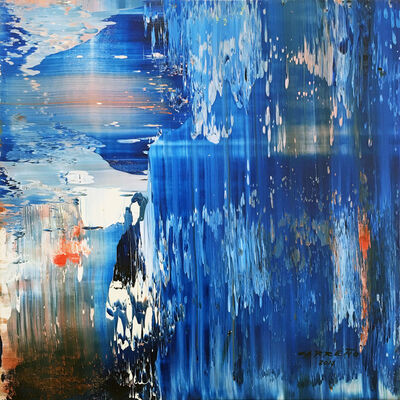 Antonio Carreno, 'Blue Sequence', 2017