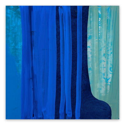 Marcy Rosenblat, 'Blue Shift (Abstract painting)', 2017