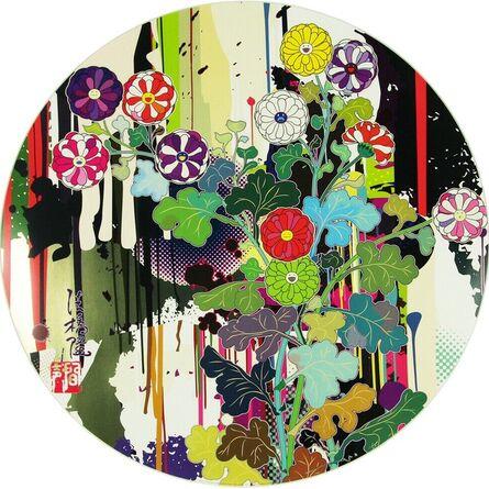 Takashi Murakami, 'I Recall The Time When My Feet Lifted Off The Ground,Ever So Slightly-Korin-Chrysanthemum', 2010
