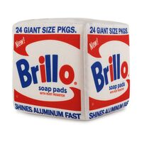 Andy Warhol, 'Brillo Box Plush', ca. 2019