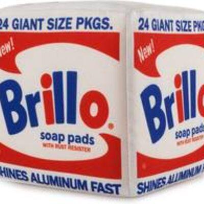 Andy Warhol, 'Brillo Box Plush', ca. 2019