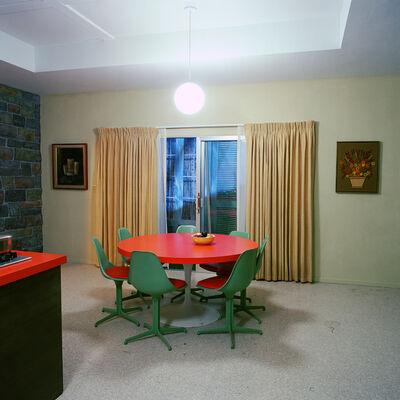 John Divola, '(X18F7) Brady Buch House Dinning Room, View Two - Stage 6', 2002
