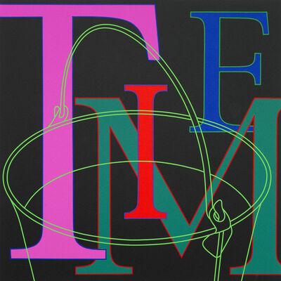 Michael Craig-Martin, 'Untitled (Time)', 2010