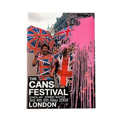 Banksy, 'CANS FESTIVAL EVENT BOOKLET', 2008