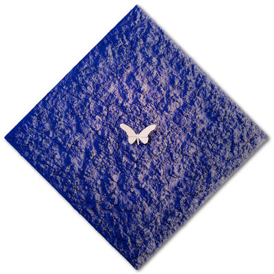Samuel Dejong, 'Vanish 02.01 White Blue Diamond', 2018-2019