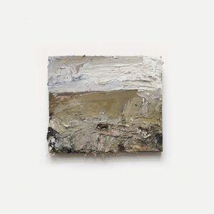 Andrew Hardwick, 'Two Horses, Moor and Standing Stone'