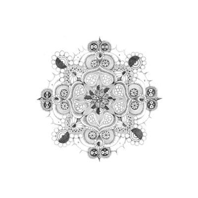 Michiyo Ihara, 'Jimi, Snowflakes Series #38', 2008