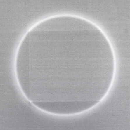 Len Klikunas, 'Banded Squares And Circles', 2021