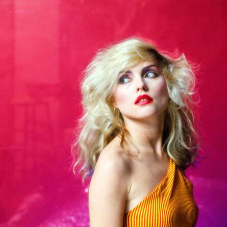 Mick Rock, 'Pink Debbie Harry', 1978