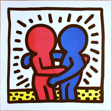 Keith Haring, 'Best Buddies', ca. 1993