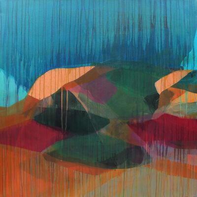Katherine Sandoz, 'Cliff and Brush', 2017
