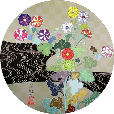 Takashi Murakami, 'Kansei: Korin Gold', 2010
