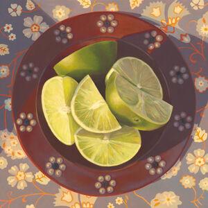 "Kathrine Lemke Waste, '""Flowers and Lime""', 2020"