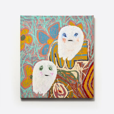 Adam Handler, 'Brother Ghosts on Foreign Quilts', 2019