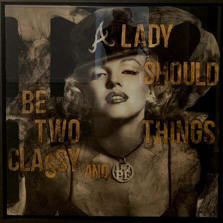 DL Warfield, 'A Lady Should Be Two Things', 2021