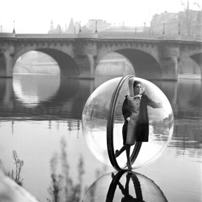 Melvin Sokolsky, 'On the Seine Kick, Paris', 1963