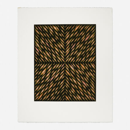 Fred Tomaselli, '50 V's for the Center of Your Face', 1998