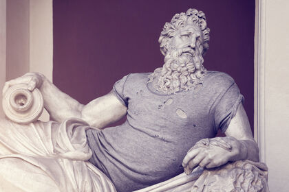 Leo Caillard | Hipsters In Stone