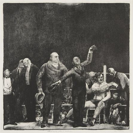George Bellows, 'Introducing John L. Sullivan.', 1916