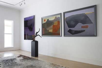 ERIK LAUBSCHER,  THE LANDSCAPES: A SELECTION OF PAINTINGS FROM 1946 – 2012
