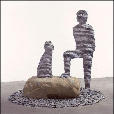 Boaz Vaadia, 'Yo'ah with Dog (#70)', 2001