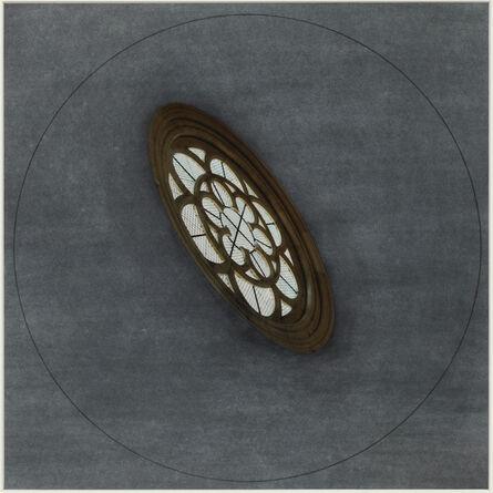 Jan Dibbets, 'Rosary Window, Montreal', 1988